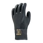 防寒用手袋 ダイローブ102BK